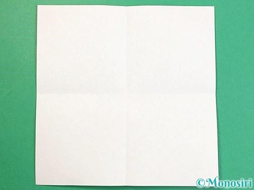 折り紙で立体的な牛の折り方手順18