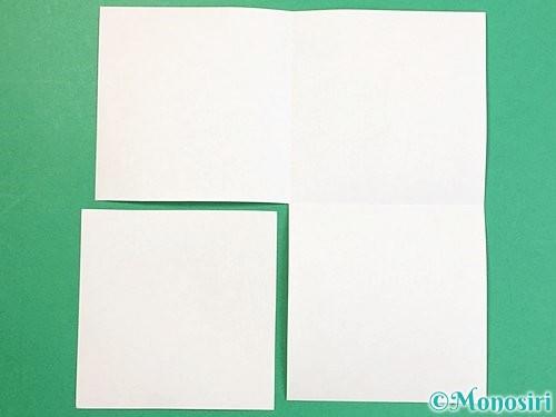 折り紙で立体的な牛の折り方手順19