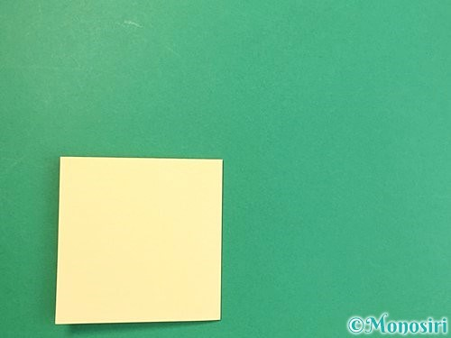折り紙で立体的な牛の折り方手順23
