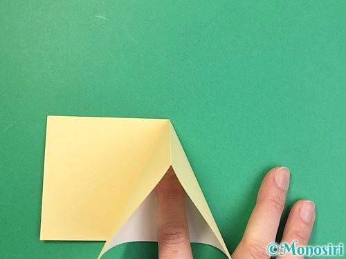 折り紙で立体的な牛の折り方手順25