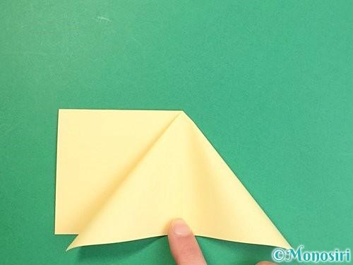 折り紙で立体的な牛の折り方手順26