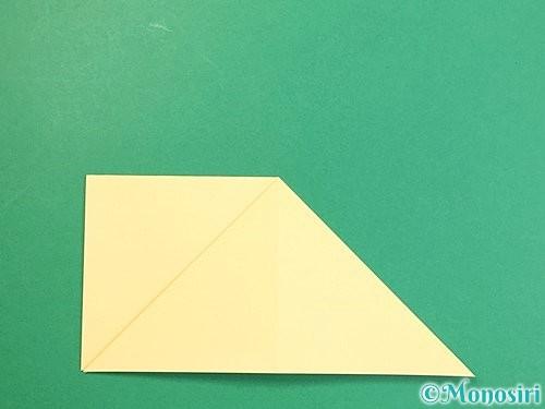 折り紙で立体的な牛の折り方手順27
