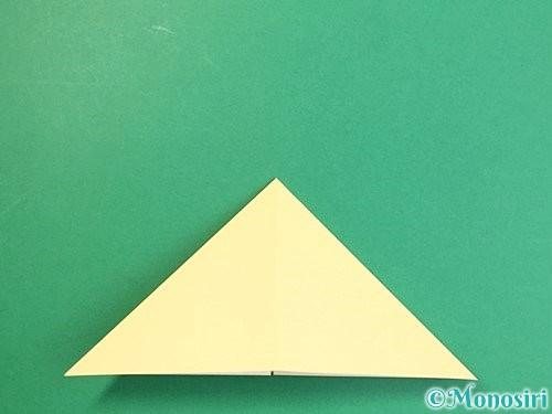 折り紙で立体的な牛の折り方手順28