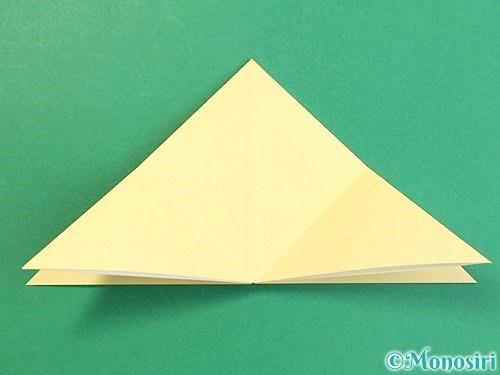 折り紙で立体的な牛の折り方手順30