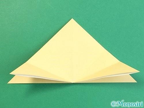 折り紙で立体的な牛の折り方手順32