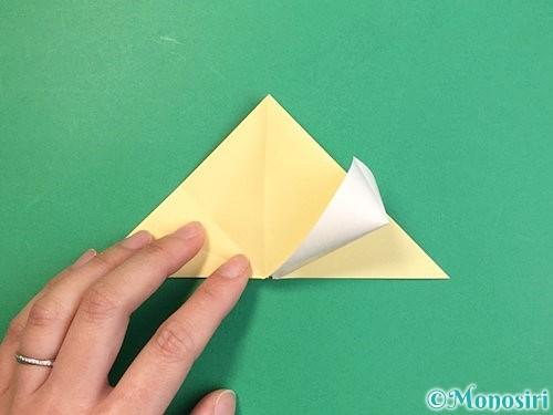 折り紙で立体的な牛の折り方手順36