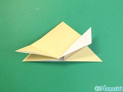 折り紙で立体的な牛の折り方手順37