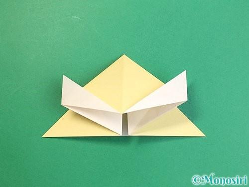 折り紙で立体的な牛の折り方手順38