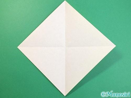 折り紙で立体的な虎の折り方手順2