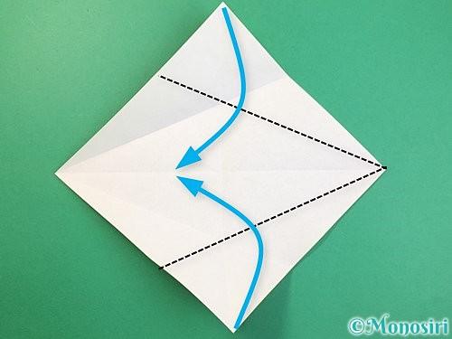 折り紙で立体的な虎の折り方手順5
