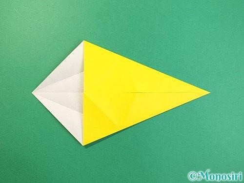 折り紙で立体的な虎の折り方手順6