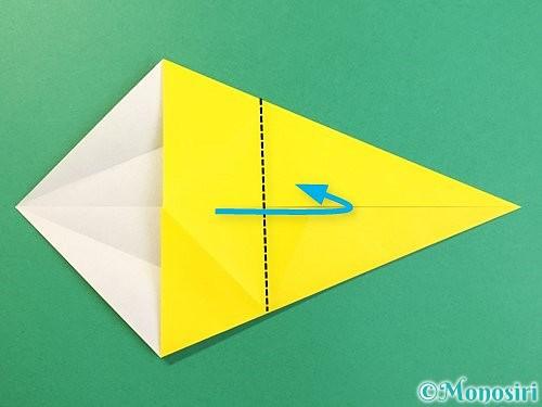 折り紙で立体的な虎の折り方手順7
