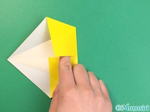 折り紙で立体的な虎の折り方手順9