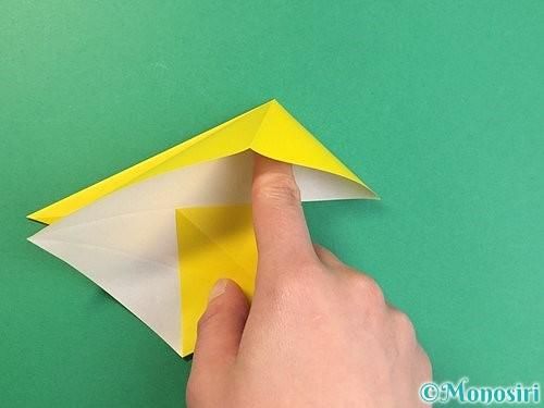 折り紙で立体的な虎の折り方手順10