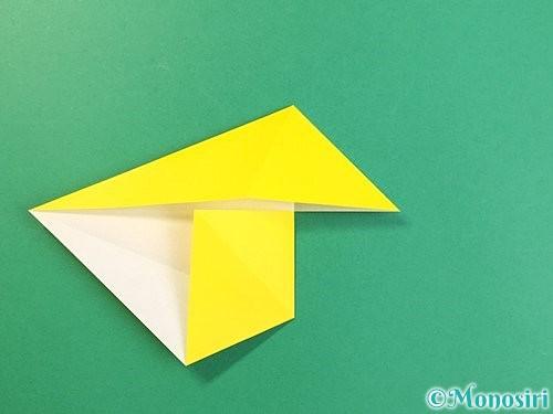 折り紙で立体的な虎の折り方手順11