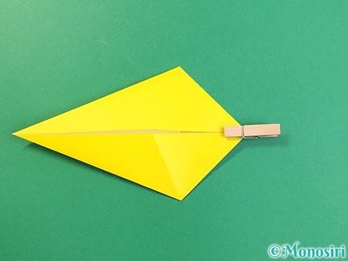 折り紙で立体的な虎の折り方手順12