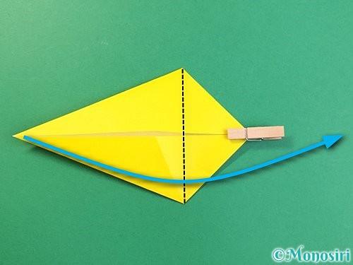 折り紙で立体的な虎の折り方手順13