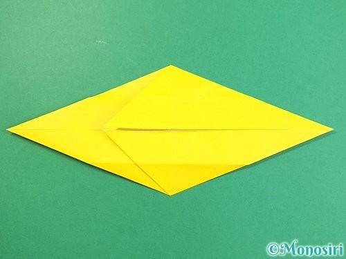 折り紙で立体的な虎の折り方手順17