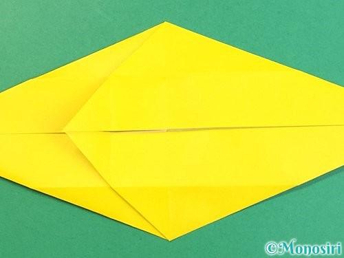 折り紙で立体的な虎の折り方手順19