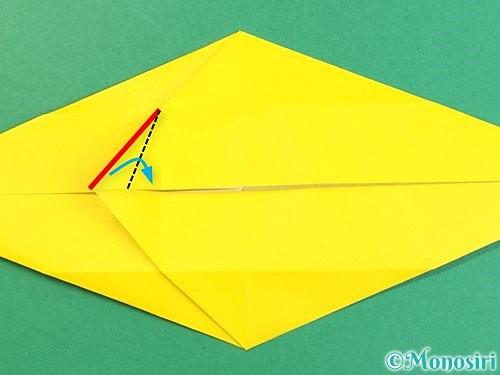 折り紙で立体的な虎の折り方手順20