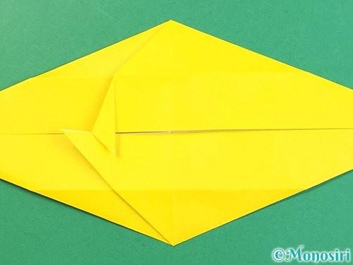 折り紙で立体的な虎の折り方手順21