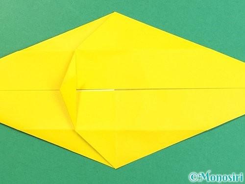 折り紙で立体的な虎の折り方手順23