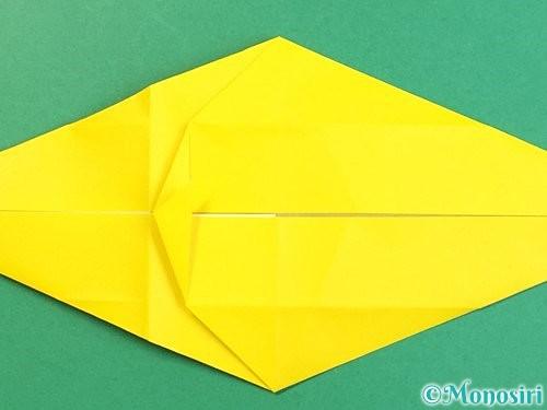折り紙で立体的な虎の折り方手順25