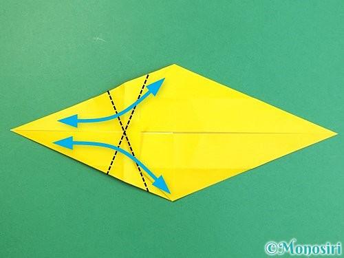 折り紙で立体的な虎の折り方手順26