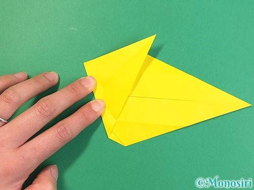 折り紙で立体的な虎の折り方手順27