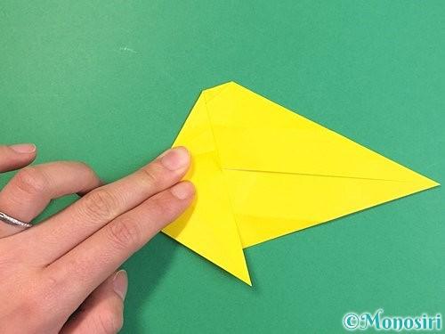 折り紙で立体的な虎の折り方手順28
