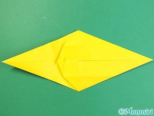 折り紙で立体的な虎の折り方手順29