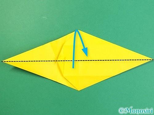 折り紙で立体的な虎の折り方手順30