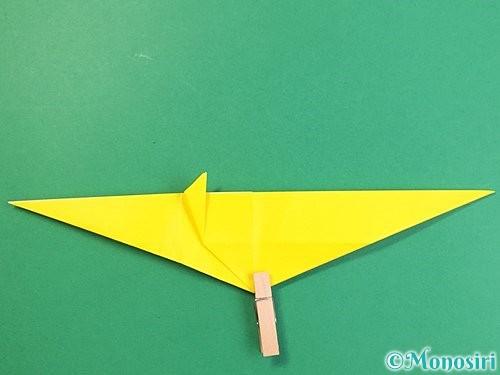 折り紙で立体的な虎の折り方手順32