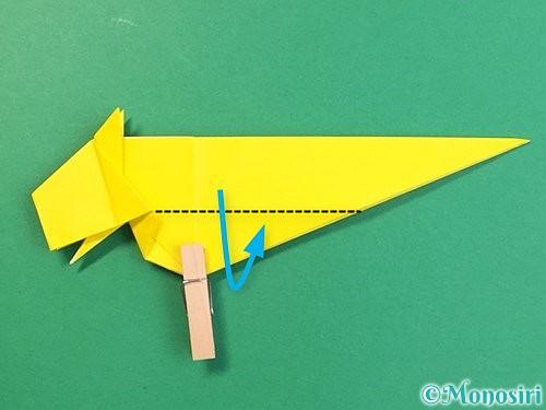 折り紙で立体的な虎の折り方手順50