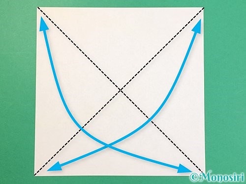 折り紙で立体的な虎の折り方手順53