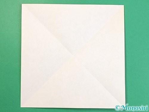折り紙で立体的な虎の折り方手順54