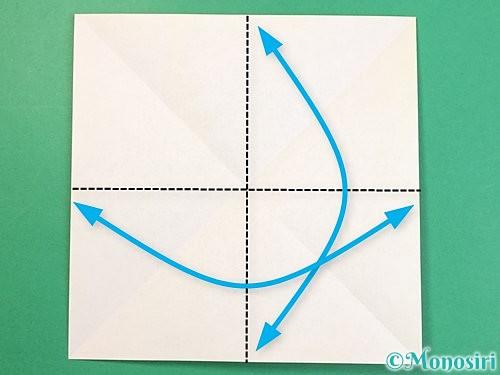 折り紙で立体的な虎の折り方手順55