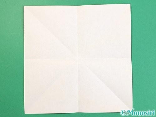 折り紙で立体的な虎の折り方手順56