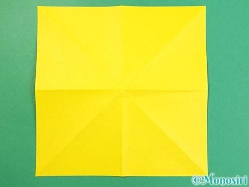 折り紙で立体的な虎の折り方手順57