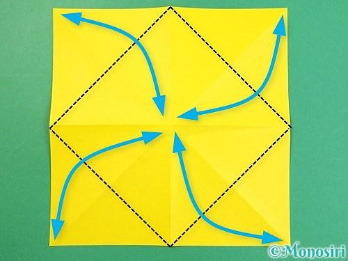 折り紙で立体的な虎の折り方手順58