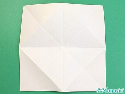 折り紙で立体的な虎の折り方手順60