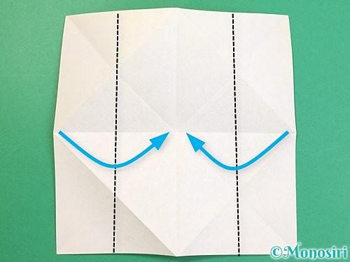 折り紙で立体的な虎の折り方手順61