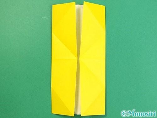 折り紙で立体的な虎の折り方手順62