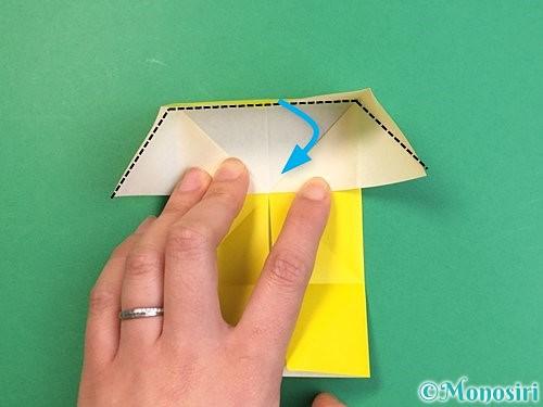 折り紙で立体的な虎の折り方手順67