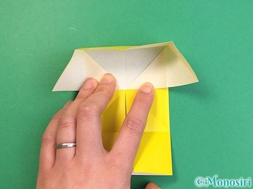 折り紙で立体的な虎の折り方手順66