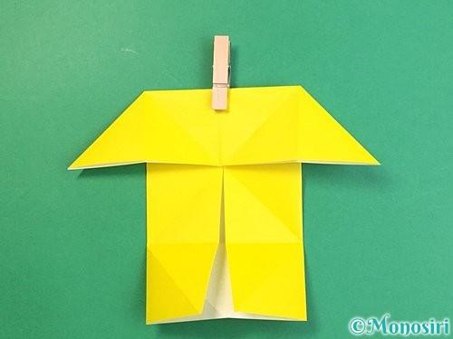 折り紙で立体的な虎の折り方手順68