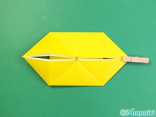 折り紙で立体的な虎の折り方手順69