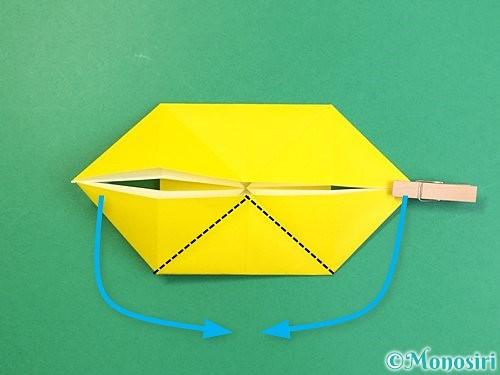 折り紙で立体的な虎の折り方手順70