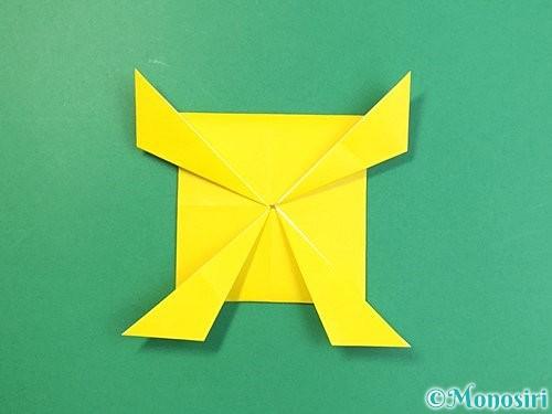折り紙で立体的な虎の折り方手順73