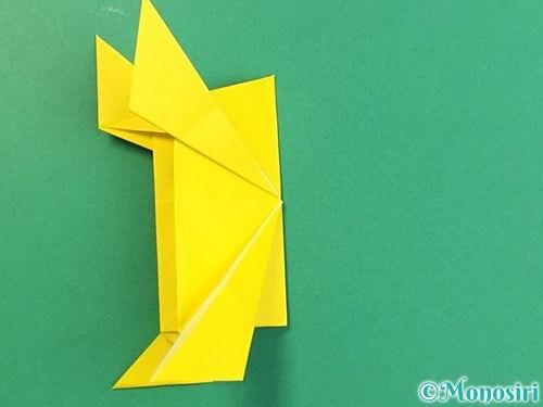 折り紙で立体的な虎の折り方手順78